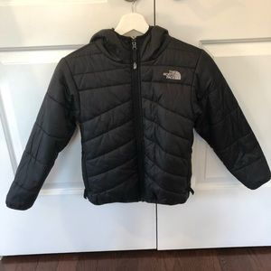North face reversible kids jacket- small 7/8